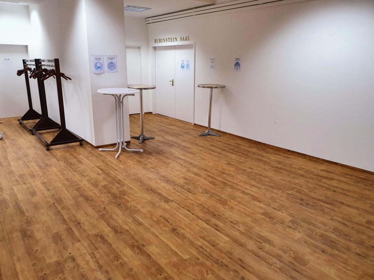 Foyer Rubinstein-Saal